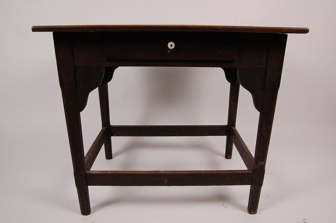 ANTIQUE WALNUT COUNTRY WORK TABLE