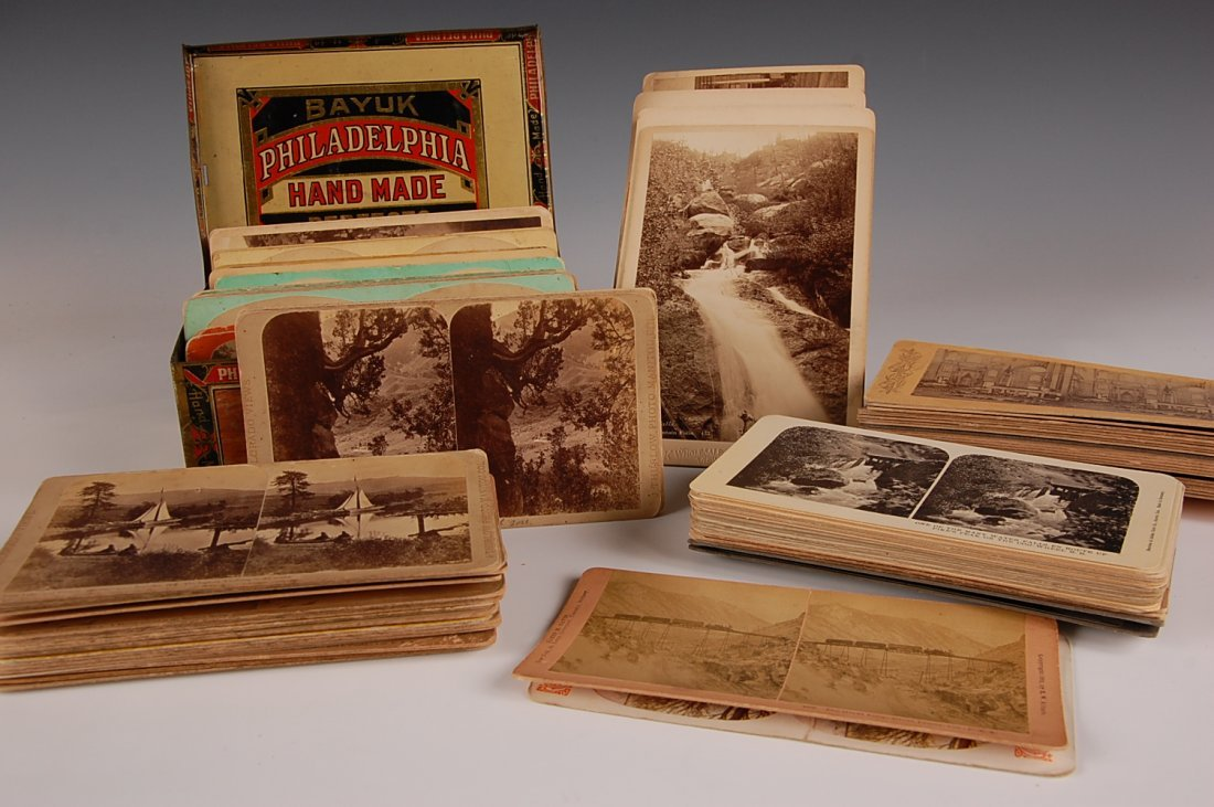 REAL PHOTO STEREOVIEW CARDS, PRIMARILY COLORADO