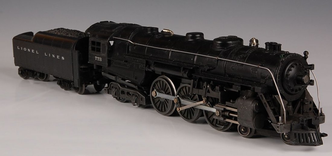 LIONEL ENGINE AND TENDER, 773