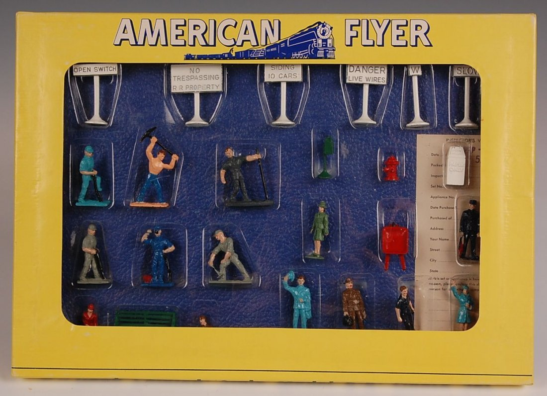 AMERICAN FLYER NO. 34 RR FIGURE SET IN ORIG BOX