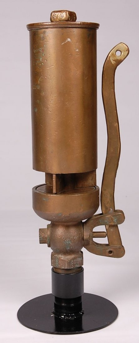 CB&Q RAILROAD MARKED BRASS FIVE CHIME WHISTLE