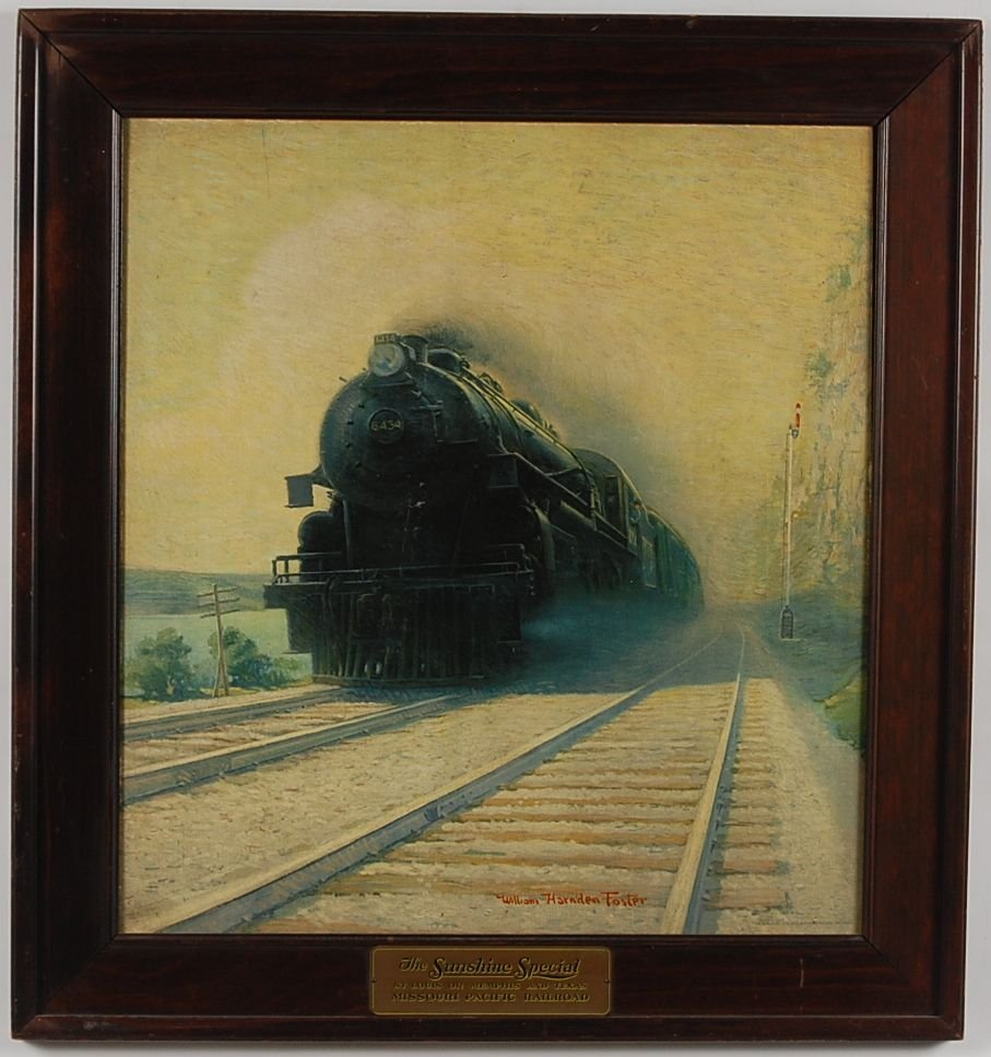 THE SUNSHINE SPECIAL PRINT BY WILLIAM HARNDEN FOSTER