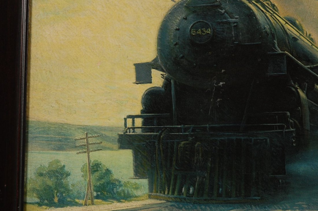 THE SUNSHINE SPECIAL PRINT BY WILLIAM HARNDEN FOSTER - 4