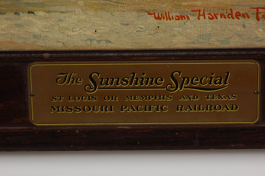 THE SUNSHINE SPECIAL PRINT BY WILLIAM HARNDEN FOSTER - 9