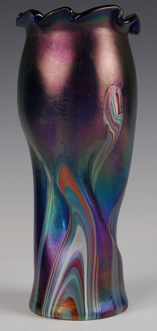 BOHEMIAN ART GLASS VASE