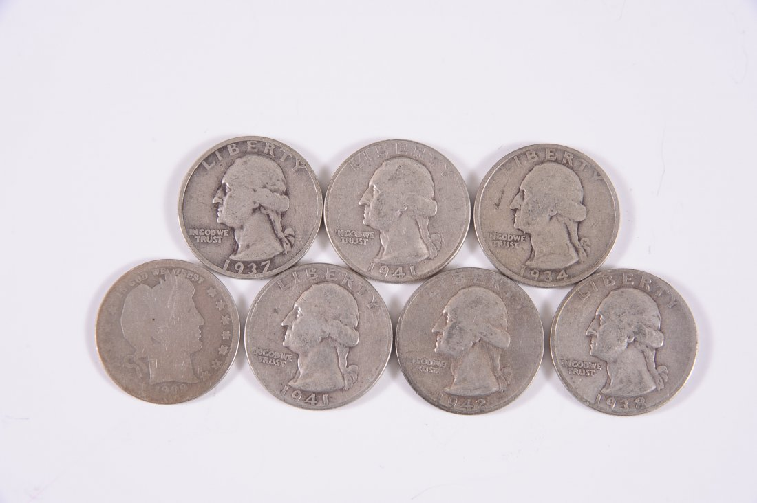 $1.75 FACE VALUE U.S. SILVER COINAGE