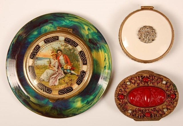 THREE VINTAGE COMPACTS