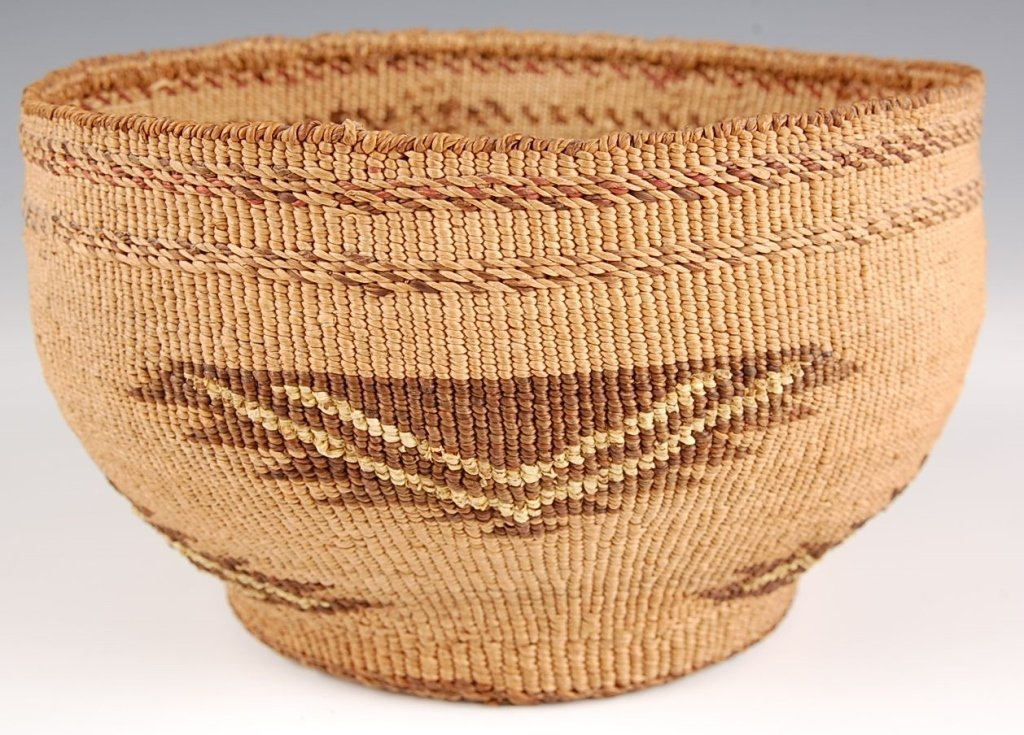 NORTHWEST COAST BASKETRY BOWL