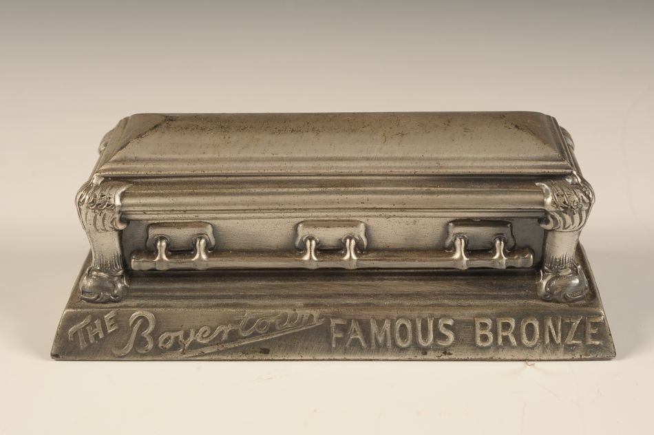 THE BOYERTOWN CASKET COMPANY ADVTG PAPERWEIGHT - 3