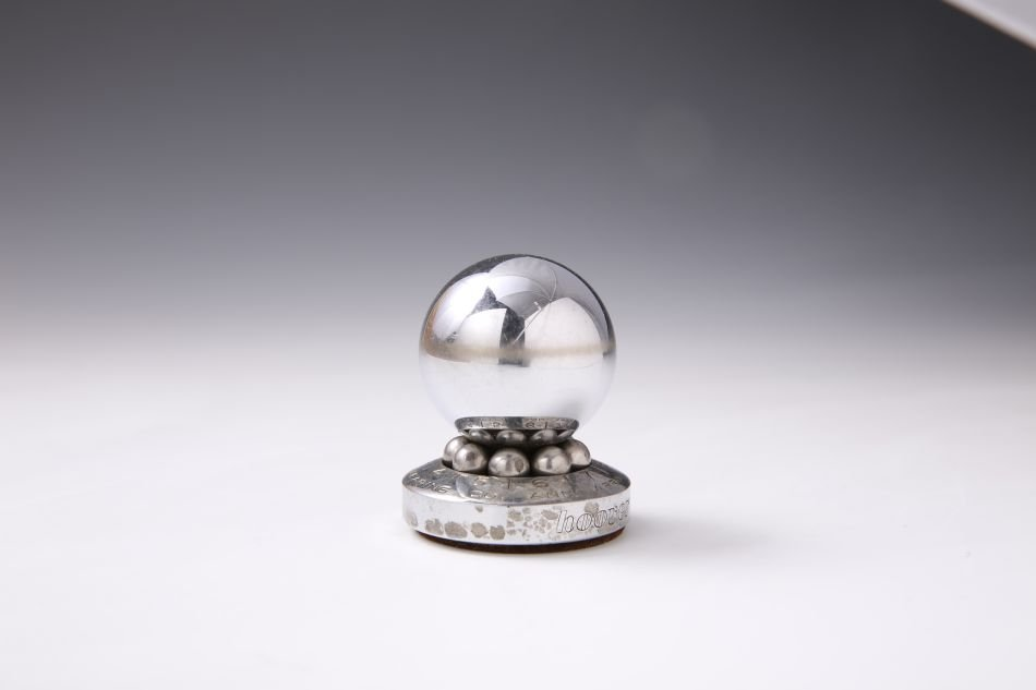 HOOVER BALL BEARING COMPANY ROULETTE ADVTG PAPERWEIGHT - 3