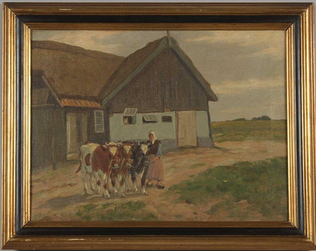 WILLIAM HANSEN (1908-1991) OIL ON CANVAS