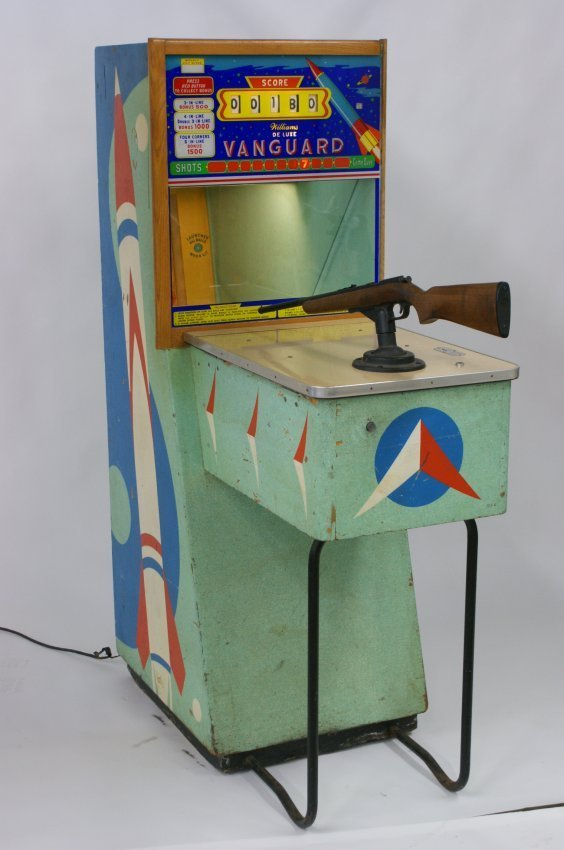 WILLIAMS DELUXE VANGUARD SHOOTING GALLERY C. 1960