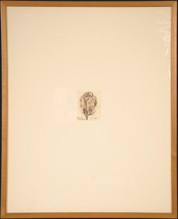 RICHARD M. HOLLANDER(1911-1991) THREE WORKS ON PAPER