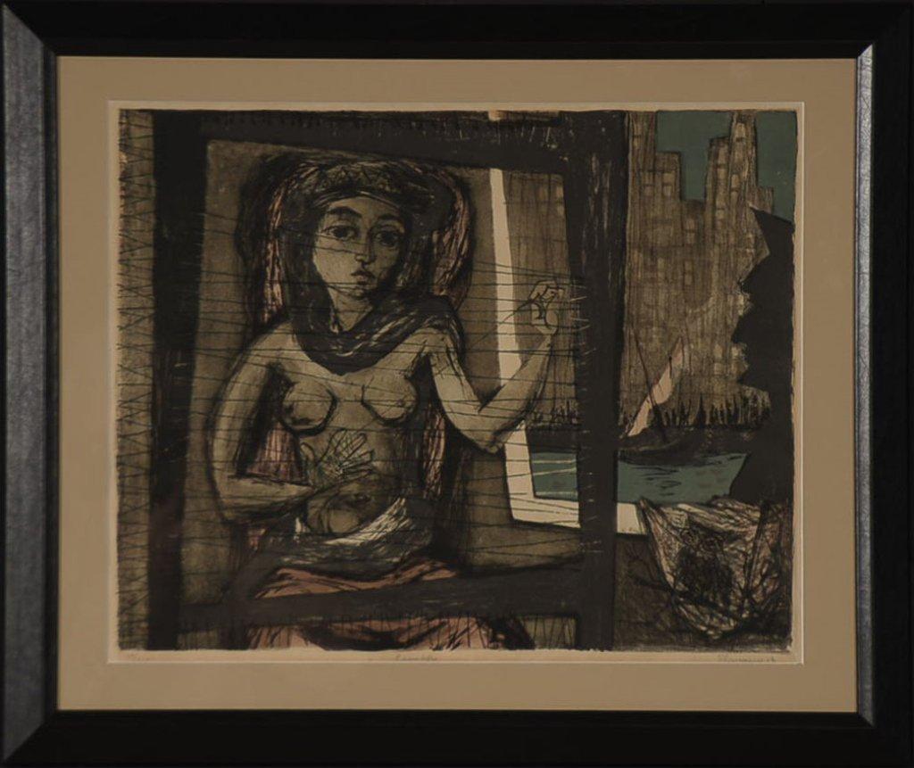 BENTON M. SPRUANCE (1904-1967) COLOR LITHOGRAPH
