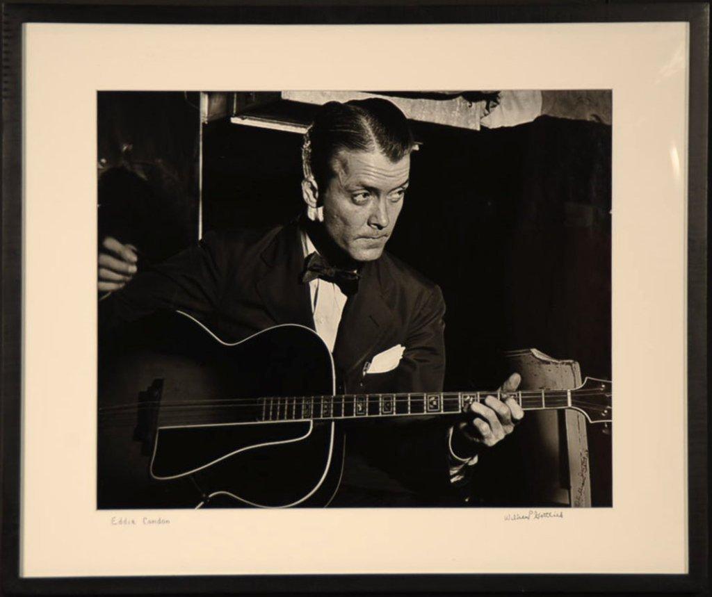 WILLIAM P. GOTTLIEB (1917-2006) SIGNED PHOTOGRAPH