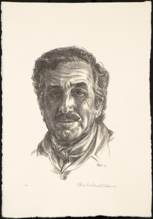 CHARLES BANKS WILSON (1918-2013) PENCIL SIGNED
