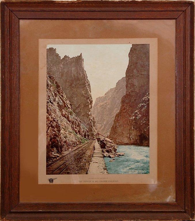 WILLIAM H. JACKSON (1843- 1942) DENVER & RIO GRANDE RR