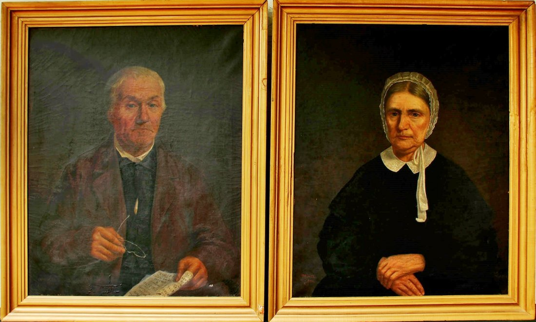 HENRY MOSLER (1841 -1920) PORTRAITS W/ LINCOLN ELECTION