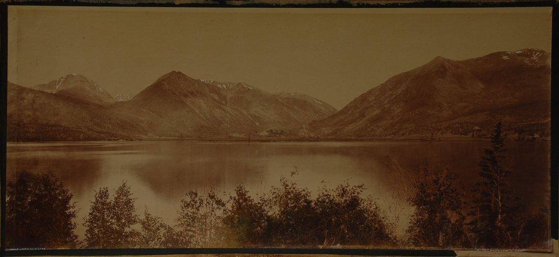 WILLIAM H. JACKSON (1843- 1942)  UPPER TWIN LAKE COLO.