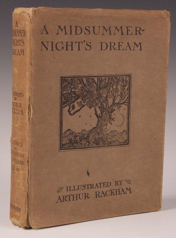 SHAKESPEARE, A MISUMMERNIGHT'S DREAM, ARTHUR RACKHAM