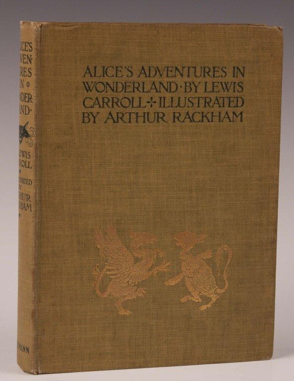 CARROLL, LEWIS, ALICE'S ADVENTURES IN WONDERLAND,