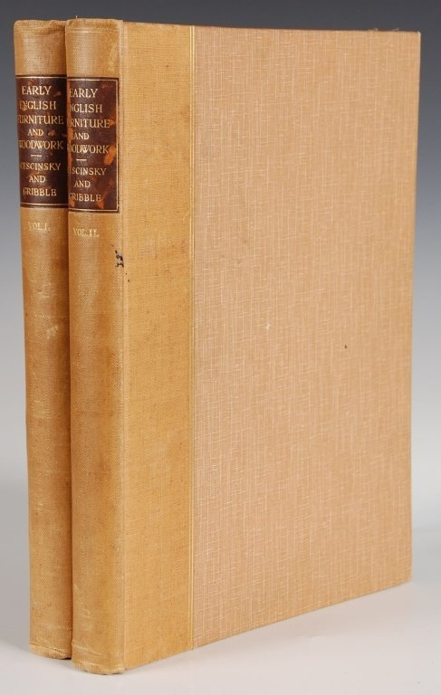 CESCINSKY & GRIBBLE, EARLY ENGLISH FURNITURE &