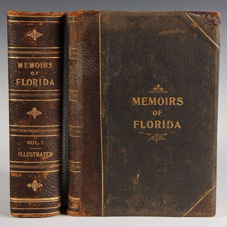 Rerick, R.H., MEMOIRS OF FLORIDA, 1902, 2 VOLUMES