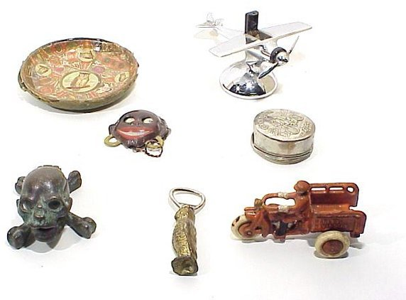 8: Grouping Of Various Antique And Collectibl
