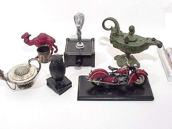 Grouping Of Various Antique And Collectibl