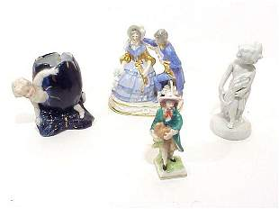 Grouping Of Various Antique And Collectib