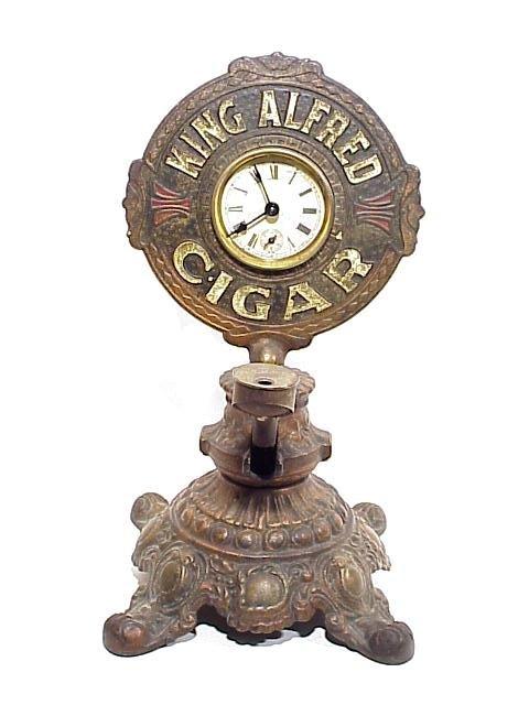 39: King Alfred Cast Iron Countertop Cigar Cu