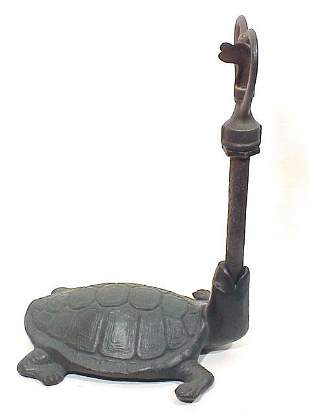 Cast Iron Lawn Sprinkler in Form Of Turtl