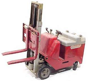 """Urbana Tow Motor Toy Forklift """"The One Ma"""