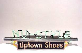 Nu-Style Uptown Shoes 2 Color Neon Light