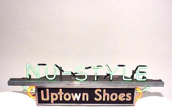 484: Nu-Style Uptown Shoes 2 Color Neon Light