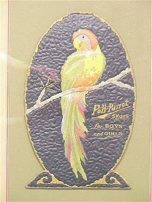 Poll-Parrot Shoes Die Cut Advertising 15