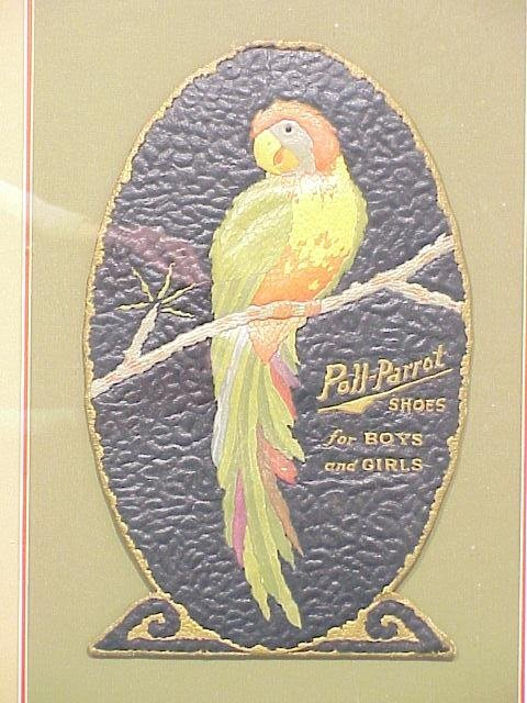 490: Poll-Parrot Shoes Die Cut Advertising 15