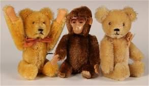SCHUCO TUMBLING BEAR, YES-NO MONKEY & BEAR