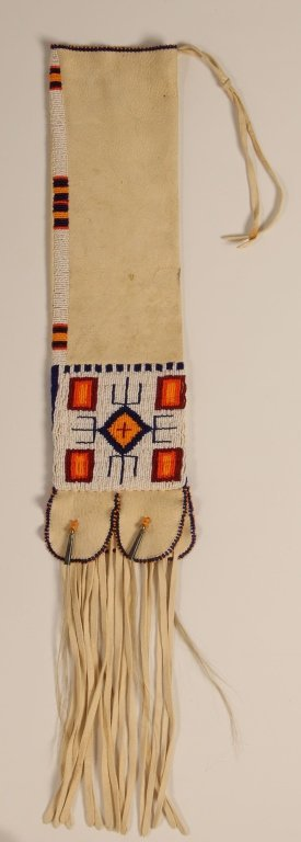 CONTEMPORARY SIOUX BEADED PIPE BAG