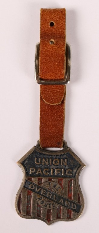 UNION PACIFIC RAILROAD OVERLAND ROUTE WATCH FOB