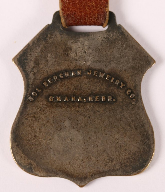 UNION PACIFIC RAILROAD OVERLAND ROUTE WATCH FOB - 4