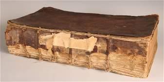 1788 FAMILY BIBLE TESTAMENTS  APOCRYPHA