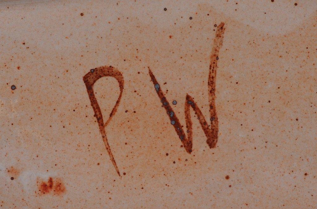 PETER WILKIN FREE-FORM STUDIO POTTERY SLAB - 8