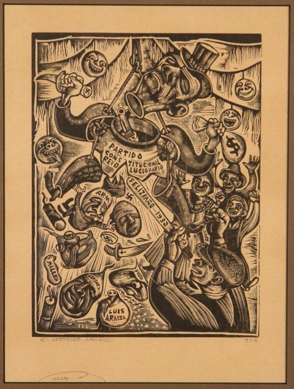 MICHAEL J. GALLAGHER (1898-1965) WOODBLOCK PRINT - 5