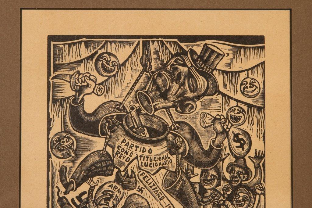 MICHAEL J. GALLAGHER (1898-1965) WOODBLOCK PRINT - 6