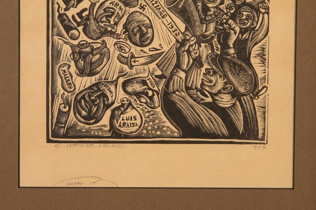 MICHAEL J. GALLAGHER (1898-1965) WOODBLOCK PRINT - 7