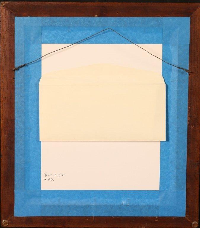 MICHAEL J. GALLAGHER (1898-1965) WOODBLOCK PRINT - 8