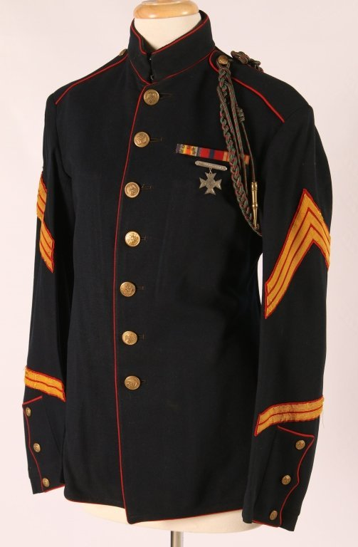 Wwi Marine Corp Sergeants Dress Blue Uniform Lot 0022
