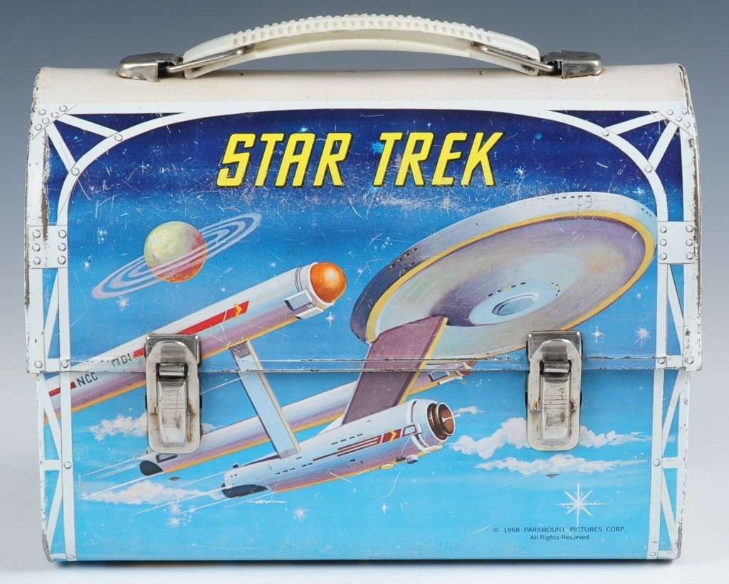 1968 STAR TREK DOME LUNCH BOX WITH THERMOS