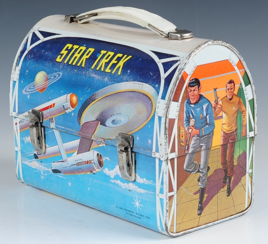 1968 STAR TREK DOME LUNCH BOX WITH THERMOS - 2